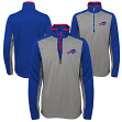 "Buffalo Bills Youth NFL ""Matrix"" 1/4 Zip Pullover Sweatshirt"