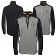 "New Orleans Saints Youth NFL ""Matrix"" 1/4 Zip Pullover Sweatshirt"