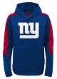 "New York Giants Youth NFL ""Bold Logo"" Performance Hooded Sweatshirt"