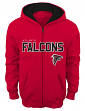 "Atlanta Falcons Youth NFL ""Stated"" Full Zip Hooded Sweatshirt"