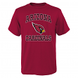 "Arizona Cardinals Youth NFL ""Gridiron Hero"" Short Sleeve T-Shirt"