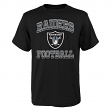 "Oakland Raiders Youth NFL ""Gridiron Hero"" Short Sleeve T-Shirt"