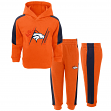 "Denver Broncos NFL Toddler ""Fullback"" Fleece Hoodie & Pants Set"