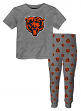 "Chicago Bears Youth NFL ""Overtime"" Pajama T-shirt & Sleep Pant Set"