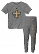 "New Orleans Saints Youth NFL ""Overtime"" Pajama T-shirt & Sleep Pant Set"