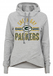 "Green Bay Packers Juniors NFL ""Flow"" Funnel Neck Hooded Sweatshirt"