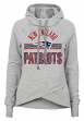 "New England Patriots Juniors NFL ""Flow"" Funnel Neck Hooded Sweatshirt"