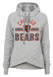 "Chicago Bears Juniors NFL ""Flow"" Funnel Neck Hooded Sweatshirt"
