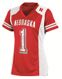 "Nebraska Cornhuskers Women's Champion ""Rally"" Fashion Football Jersey"