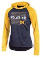 "Michigan Wolverines Women's NCAA Champion ""Pride"" Long Sleeve Hooded Shirt"