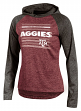 "Texas A&M Aggies Women's NCAA Champion ""Pride"" Long Sleeve Hooded Shirt"