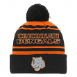 "Cincinnati Bengals Youth NFL ""Reflective"" Cuffed Knit Hat w/ Pom"