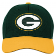 "Green Bay Packers Youth NFL ""Tech"" Structured Adjustable Hat"