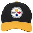 """Pittsburgh Steelers Youth NFL """"Tech"""" Structured Adjustable Hat"""