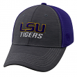 """LSU Tigers NCAA Top of the World """"Upright"""" Structured Mesh Hat"""