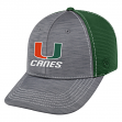 "Miami Hurricanes NCAA Top of the World ""Upright"" Structured Mesh Hat"