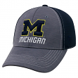 """Michigan Wolverines NCAA Top of the World """"Upright"""" Structured Mesh Hat"""