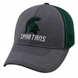 "Michigan State Spartans NCAA Top of the World ""Upright"" Structured Mesh Hat"
