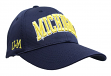 "Michigan Wolverines NCAA Top of the World ""So Clean"" Structured Mesh Hat"