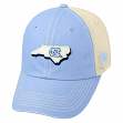 "North Carolina Tarheels NCAA Top of the World ""United"" Adjustable Mesh Back Hat"