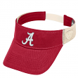 "Alabama Crimson Tide NCAA Top of the World ""Sandstone"" Mesh Back Visor"