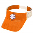 "Clemson Tigers NCAA Top of the World ""Sandstone"" Mesh Back Visor"