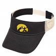 "Iowa Hawkeyes NCAA Top of the World ""Sandstone"" Mesh Back Visor"