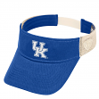 "Kentucky Wildcats NCAA Top of the World ""Sandstone"" Mesh Back Visor"