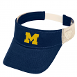 "Michigan Wolverines NCAA Top of the World ""Sandstone"" Mesh Back Visor"