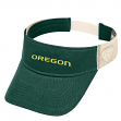"Oregon Ducks NCAA Top of the World ""Sandstone"" Mesh Back Visor"