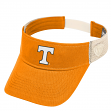 "Tennessee Volunteers NCAA Top of the World ""Sandstone"" Mesh Back Visor"