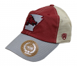 "Arkansas Razorbacks NCAA Top of the World ""VC Offroad"" Adjustable Mesh Back Hat"