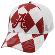 "Alabama Crimson Tide NCAA Top of the World ""Get Loud"" Argyle & Mesh Back Hat"