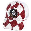 "Florida State Seminoles NCAA Top of the World ""Get Loud"" Argyle & Mesh Back Hat"