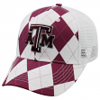 "Texas A&M Aggies NCAA Top of the World ""Get Loud"" Argyle & Mesh Back Hat"