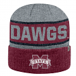 "Mississippi State Bulldogs NCAA Top of the World ""Below Zero 2"" Cuffed Knit Hat"