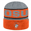 "Oklahoma State Cowboys NCAA Top of the World ""Below Zero 2"" Cuffed Knit Hat"