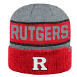 "Rutgers Scarlet Knights NCAA Top of the World ""Below Zero 2"" Cuffed Knit Hat"