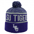 "LSU Tigers NCAA Top of the World ""Acid Rain 2"" Cuffed Knit Hat"