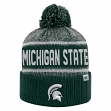"""Michigan State Spartans NCAA Top of the World """"Acid Rain 2"""" Cuffed Knit Hat"""