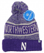 "Northwestern Wildcats NCAA Top of the World ""Acid Rain 2"" Cuffed Knit Hat"