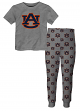 "Auburn Tigers Youth NCAA ""Overtime"" Pajama T-shirt & Sleep Pant Set"