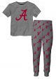 "Alabama Crimson Tide Toddler NCAA ""Game Winner"" Pajama T-shirt & Sleep Pant Set"