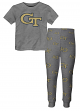 "Georgia Tech Yellowjackets Toddler ""Game Winner"" Pajama T-shirt & Sleep Pant Set"