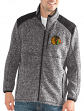 "Chicago Blackhawks NHL G-III ""Back Country"" Full Zip Men's Sweater Jacket"