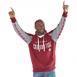 "Alabama Crimson Tide NCAA Men's G-III ""Hands High"" Hooded Fleece Sweatshirt"
