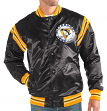 "Pittsburgh Penguins NHL Men's Starter ""The Enforcer"" Premium Satin Jacket"