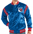 "New York Rangers NHL Men's Starter ""The Enforcer"" Premium Satin Jacket"