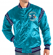 "Charlotte Hornets NBA Men's Starter ""The Enforcer"" Premium Satin Jacket"
