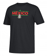 "Mexico National Team Adidas Soccer ""Dassler Local"" Men's Short Sleeve T-Shirt"